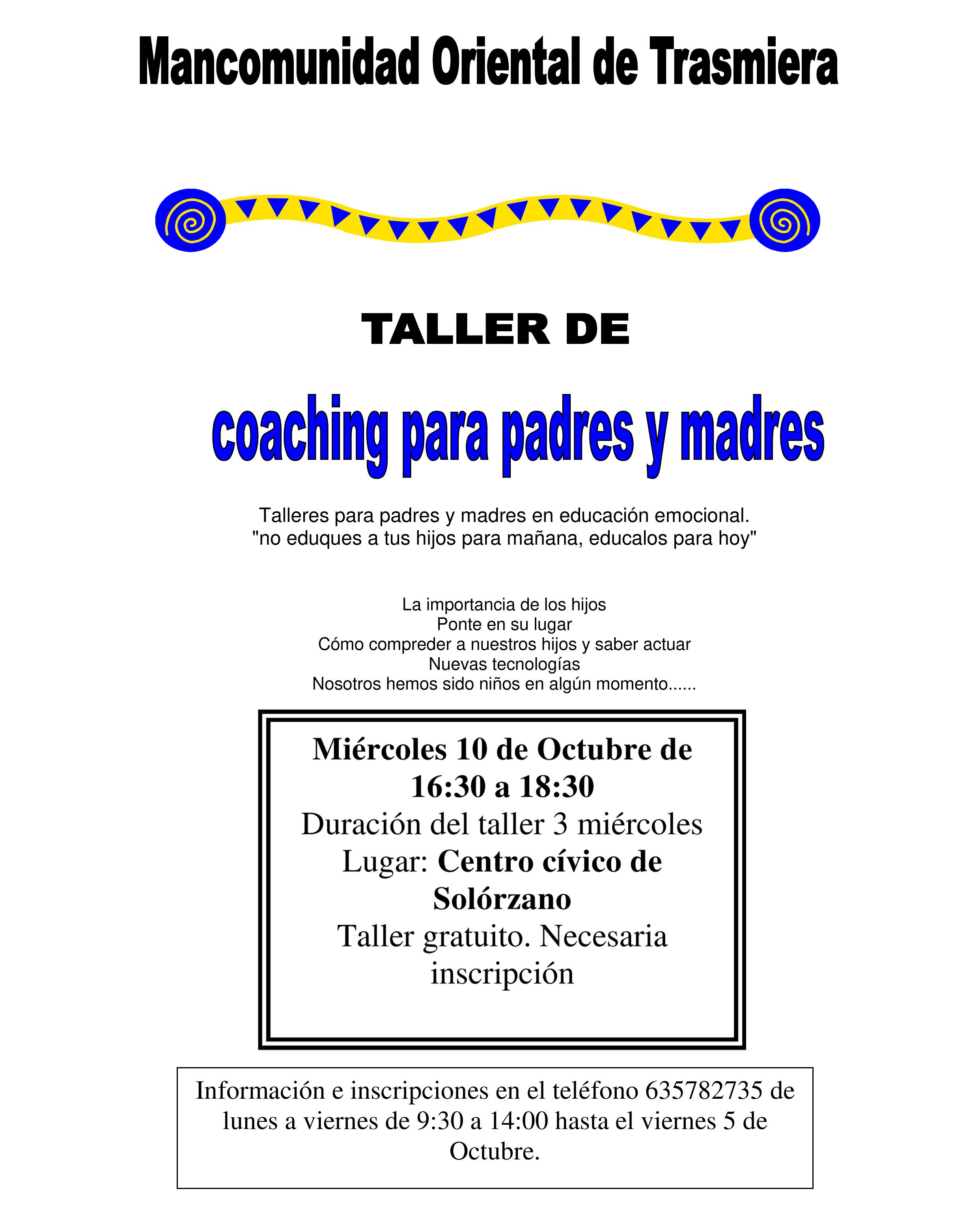 coaching en solorzano
