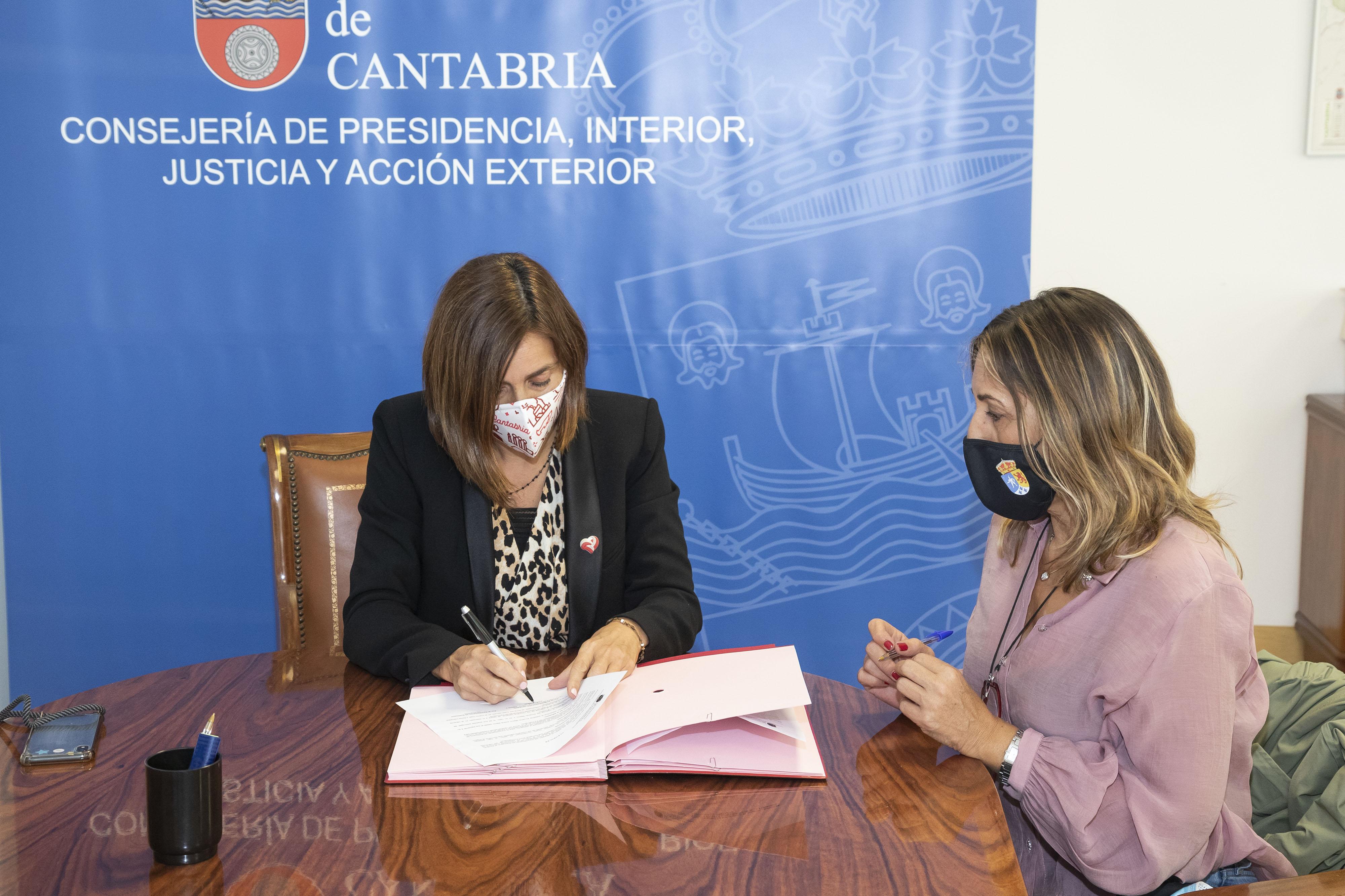 Firma del acuerdo marco de suministro de energía eléctrica.