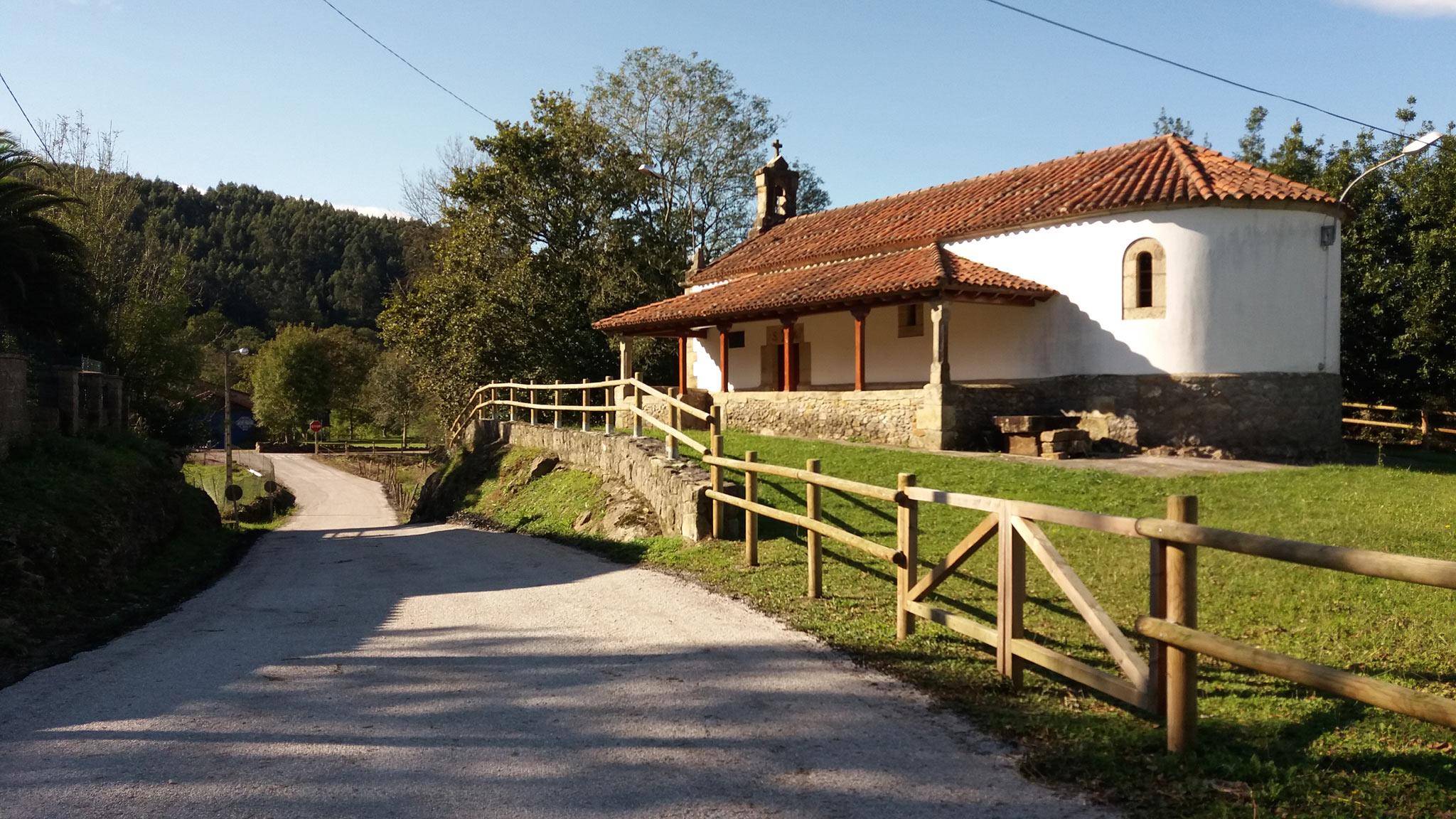 Arreglo carretera ermita de San Roque a Cueto